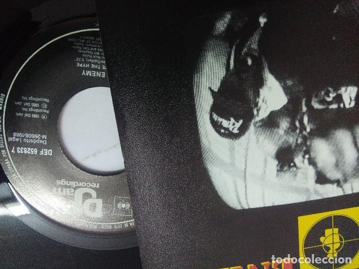 Discos de vinilo: PUBLIC ENEMY/DONT BELIEVE THE HYPE/SINGLE. - Foto 2 - 262209825