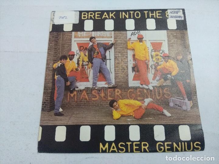 MASTER GENIUS/LET'S BREAK INTO THE 80'S/SINGLE. (Música - Discos - Singles Vinilo - Techno, Trance y House)