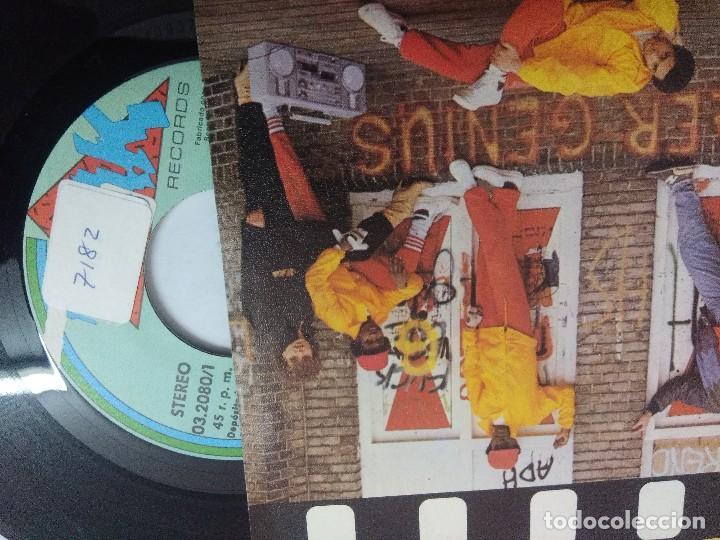 Discos de vinilo: MASTER GENIUS/LETS BREAK INTO THE 80s/SINGLE. - Foto 2 - 262210565