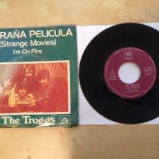 "Discos de vinilo: THE TROGGS - EXTRAÑA PELICULA (STRANGE MOVIES) - SINGLE PROMO 7"" - 1973. Lote 262210700"