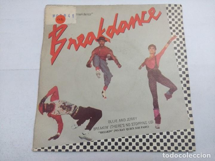 BREAKDANCE/ORIGINAL MOTION PICTURE/SINGLE. (Música - Discos - Singles Vinilo - Techno, Trance y House)