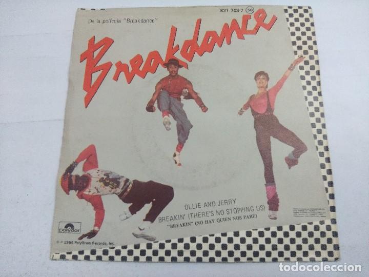 Discos de vinilo: BREAKDANCE/ORIGINAL MOTION PICTURE/SINGLE. - Foto 3 - 262210975