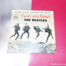 Discos de vinilo: THE BEATLES ---- TWIST AND SHOUT +3 --- VINILO/ FUNDA NEAR MINT ------ XIII. Lote 258779775