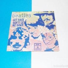Discos de vinilo: -THE BEATLES-- GET BACK & DON´T LET ME DOWN --- 1ª EDICION ---VINILO MINT M /FUNDA ( VG + ) --- XIII. Lote 259322890