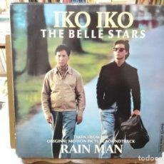 Discos de vinilo: RAIN MAN - IKO IKO - THE BELL STARS - MAXI SINGLE SELLO CAPITOL 1989. Lote 262214845