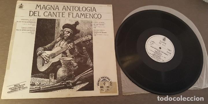 MAGNA ANTOLOGIA DEL CANTE FLAMENCO MX TERREMOTO DE JEREZ, MORENTE, GABRIEL MORENO Y MANOLO CARACOL (Música - Discos de Vinilo - Maxi Singles - Flamenco, Canción española y Cuplé)