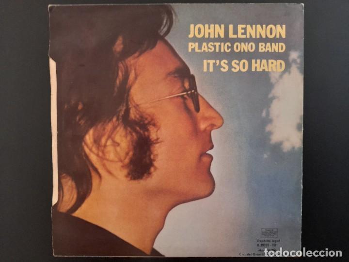 Discos de vinilo: SINGLE IMAGINE JOHN LENNON BEATLES EMI ESPAÑA . 1971 BUEN ESTADO - Foto 2 - 262218775