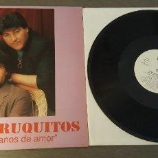 Discos de vinilo: LOS FARRUQUITOS LP SOMOS GITANOS DE AMOR 10 TEMAS 1991. Lote 262219735