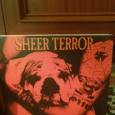 Discos de vinilo: SHEER TERROR / HASSLICH UND STOLZ / SUPERHERO RECORDS 2020. Lote 262220430
