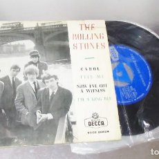 Discos de vinilo: THE ROLLING STONES ---CAROL & TELL ME & I´M A KING BEE +1 --- VINILO NEAR MINT - FUNDA VG+. Lote 258029705