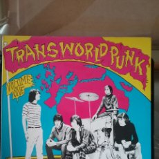 Discos de vinilo: TRANSWORLD PUNK 18 PUNK RAVERS VOL.1.CRAWDAD RECORDS. Lote 262228490