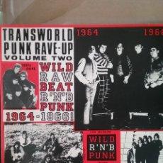 Discos de vinilo: TRANSWORLD PUNK VOL. 2 . CRAWDAD RECORDS. LOS SALVAJES,SOY ASÍ. Lote 262230270