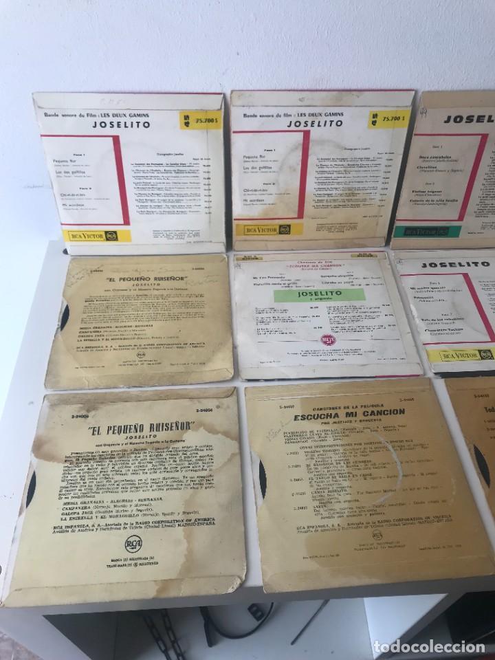 Discos de vinilo: 12 Singles Joselito EP Vinilo - Foto 3 - 262231795