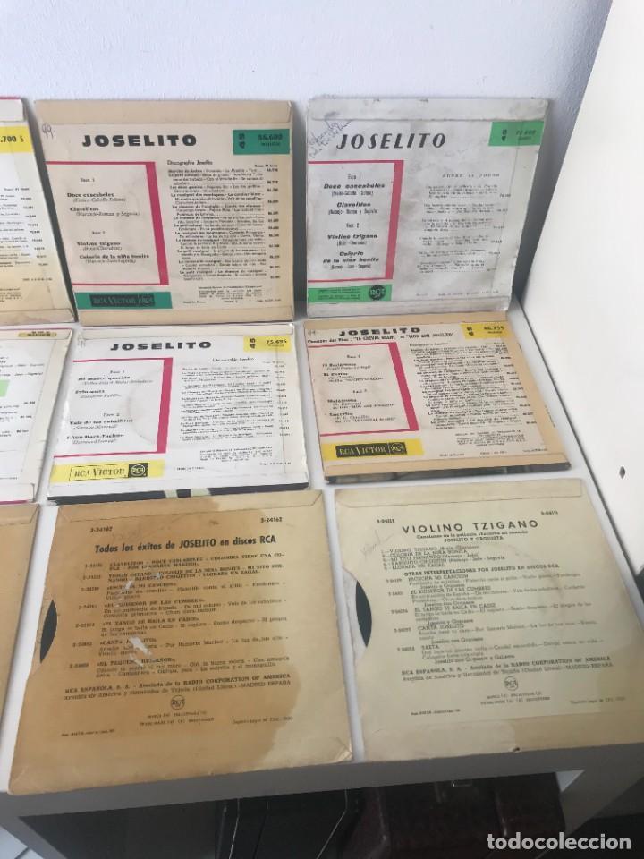 Discos de vinilo: 12 Singles Joselito EP Vinilo - Foto 4 - 262231795