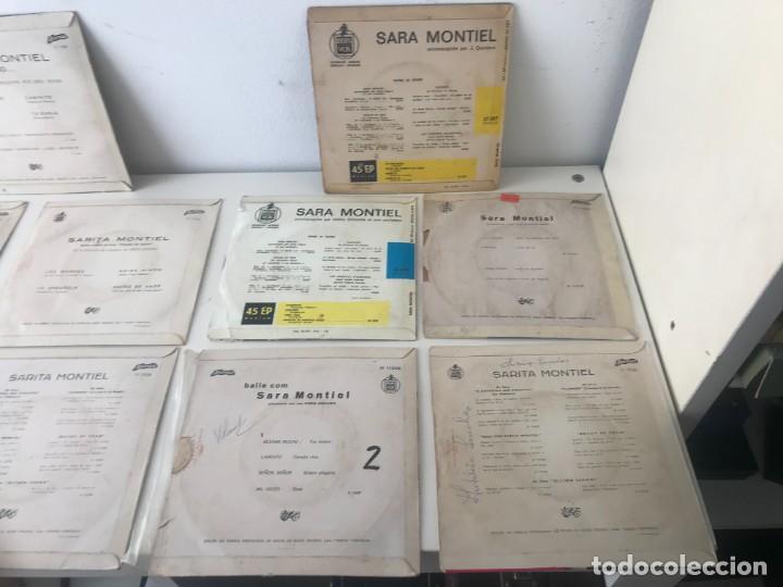 Discos de vinilo: Singles Sarita Montiel EP Vinilo - Foto 6 - 262232720