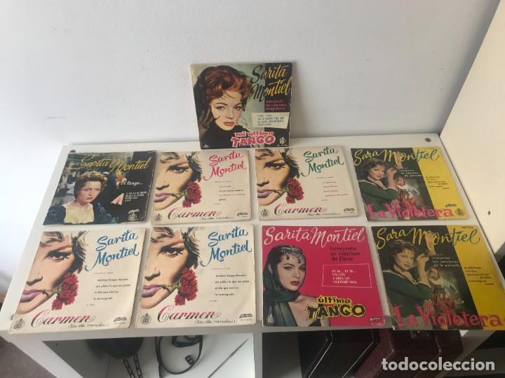 SINGLES SARITA MONTIEL EP VINILO (Música - Discos de Vinilo - EPs - Flamenco, Canción española y Cuplé)