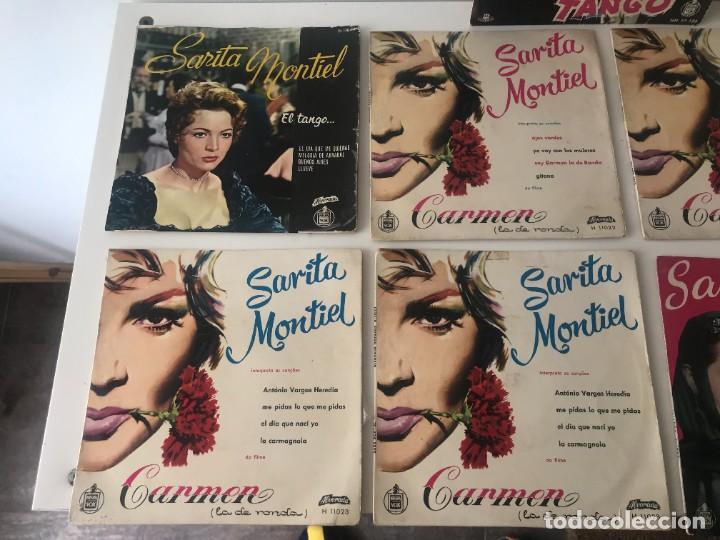 Discos de vinilo: Singles Sarita Montiel EP Vinilo - Foto 2 - 262232835