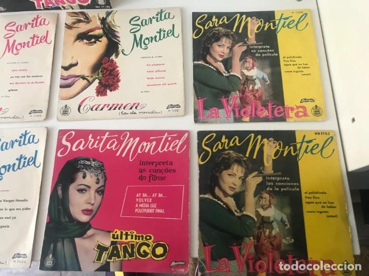 Discos de vinilo: Singles Sarita Montiel EP Vinilo - Foto 3 - 262232835