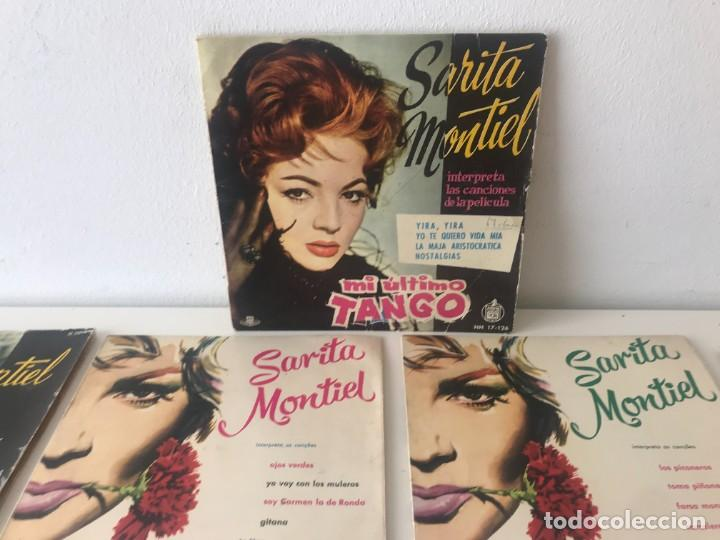 Discos de vinilo: Singles Sarita Montiel EP Vinilo - Foto 4 - 262232835