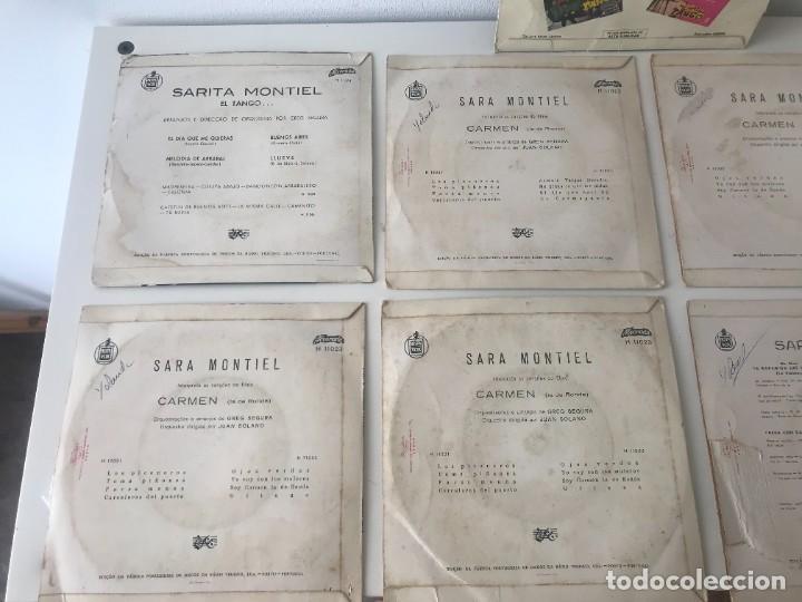 Discos de vinilo: Singles Sarita Montiel EP Vinilo - Foto 6 - 262232835