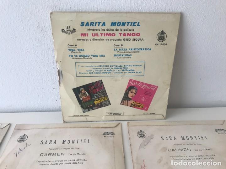 Discos de vinilo: Singles Sarita Montiel EP Vinilo - Foto 8 - 262232835