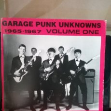 Discos de vinilo: GARAGE PUNK UNKNOWNS VOL.1 EDICION 1985 STONE AGE RECORDS. Lote 262234905