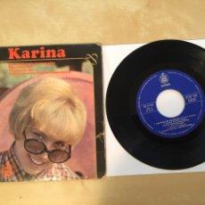 """Discos de vinilo: KARINA - CONCIERTO +3 EP - SINGLE 7"""" - 1966 SPAIN. Lote 262236215"""