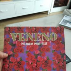Discos de vinilo: SINGLE VENENO PALABRAS PARA JULIA VG++++. Lote 262236530