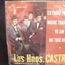 Discos de vinilo: LOS HNOS. CASTRO- EP.. Lote 262237740