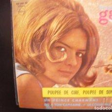 Discos de vinilo: FRANCE GALL- POUPEE DE CIRE, POUPEE DE SON. EP.. Lote 262238625