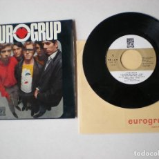 Discos de vinil: EUROGRUP - SUMMER IN THE CITY + 3 - CONCENTRIC 6044-XC - ESPAÑA 1967 CON LETRA CANCIONES.. Lote 262239080