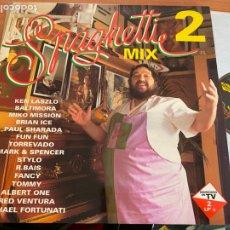 Discos de vinilo: SPAGHETTI MIX 2 LP ESPAÑA 1993 (B-28). Lote 262240520