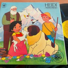 Discos de vinilo: HEIDI HISTORIA COMPLETA LP ESPAÑA 1975 GAT. (B-28). Lote 262244955