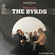 Discos de vinilo: THE BYRDS MILESTONES VINILO- GRABACIONES EN DIRECTO. Lote 262246335