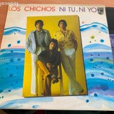 Discos de vinilo: LOS CHICHOS (NI TU NI YO) LP 1982 (B-28). Lote 262246815