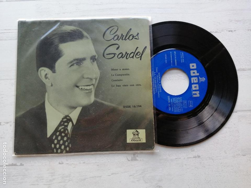 CARLOS GARDEL – MANO A MANO + 3 EP SPAIN 1958 VINILO VG+/PORTADA VG++ (Música - Discos de Vinilo - EPs - Grupos y Solistas de latinoamérica)