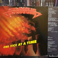 Discos de vinilo: KROKUS - ONE VICE AT A TIME. Lote 262256710