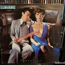 Discos de vinilo: SCORPIONS - LOVEDRIVE - 1ª EDICION U.K.. Lote 262259265