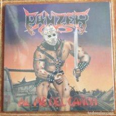 Discos de vinilo: PANZER - AL PIE DEL CAÑON (LP) PRECINTADO !!!!!. Lote 262262710