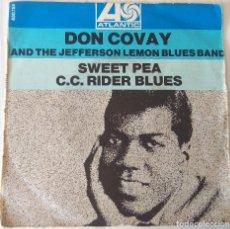 Discos de vinilo: DON COVAY & THE JEFFERSON LEMON BLUES BAND - SWEET PEA ATLANTIC EDIC. FRANCESA - 1969. Lote 262269240