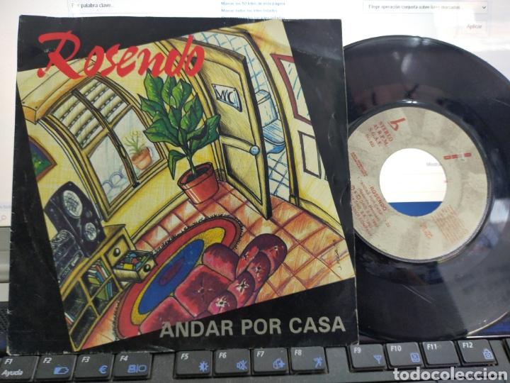 ROSENDO SINGLE PROMOCIONAL ANDAR POR CASA.1993. (Música - Discos - Singles Vinilo - Solistas Españoles de los 70 a la actualidad)