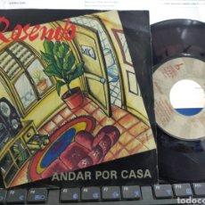 Dischi in vinile: ROSENDO SINGLE PROMOCIONAL ANDAR POR CASA.1993.. Lote 51518958