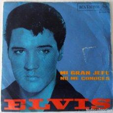 Discos de vinilo: ELVIS PRESLEY - MI GRAN JEFE RCA VICTOR - 1968. Lote 262274945