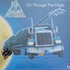Discos de vinilo: DEF LEPPARD ON THROUGH THE NIGHT LP 1980. Lote 262275165