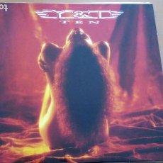 Discos de vinilo: Y & T TEN LP 1990 CON LETRAS. Lote 262276485