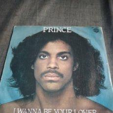 Discos de vinilo: SINGEL PRINCE I WANNA BE YOUR LOVER. Lote 262277370