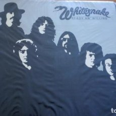 Discos de vinilo: WHITESNAKE READY AN' WILLING LP 1980 SPAIN CON INSERTO. Lote 262277525