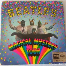 Discos de vinilo: THE BEATLES - MAGICAL MYSTERY TOUR 7YCE ODEON - 2 EP - 1967 GAT. Lote 262277605