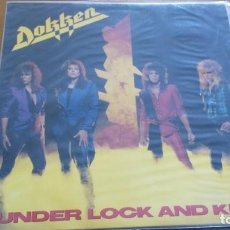 Discos de vinilo: DOKKEN UNDER LOCK AND KEY LP 1985. Lote 262277905