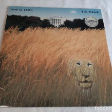 Discos de vinilo: WHITE LION -BIG GAME- (1989) LP DISCO VINILO. Lote 262278570